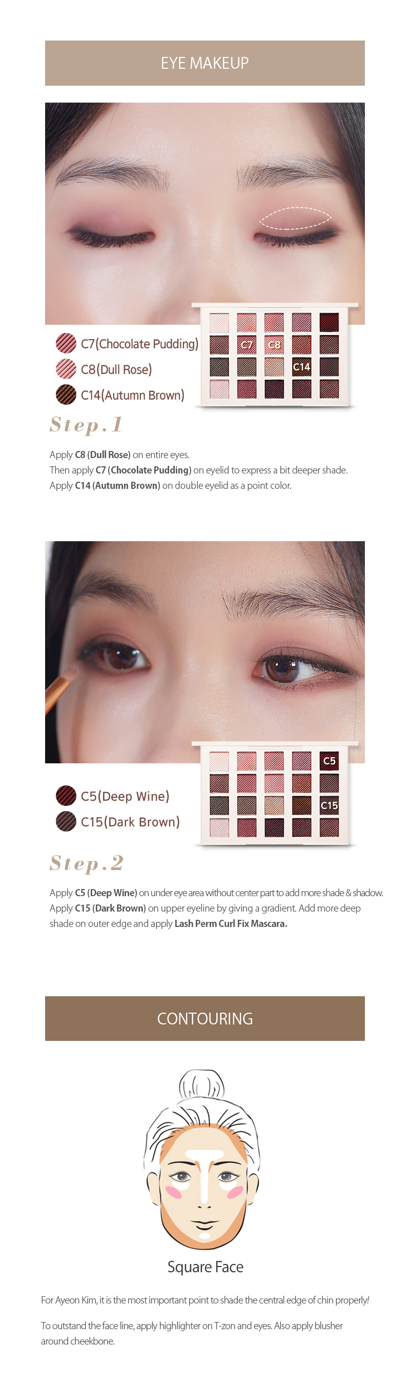 Winter cool tone makeup etude house baditri Gallery