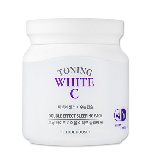 Toning White C Double Effect Sleeping Pack