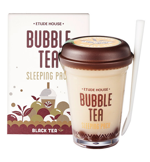 Bubble Tea Sleeping Pack [Blacktea]
