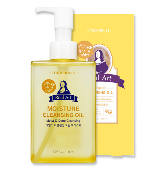 Real Art Cleansing Oil_MOISTURE (Advanced)185ml