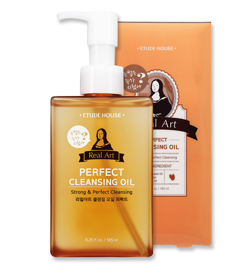 Real Art Cleansing Oil_PERFECT (Advanced) 185ml