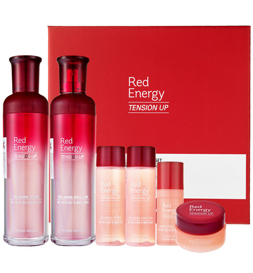 Red Energy Tension Up Skin Care Set