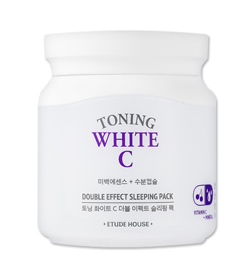 Toning White C Double Effect Sleeping Pack