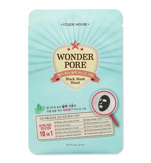 Wonder Pore Black Mask Sheet