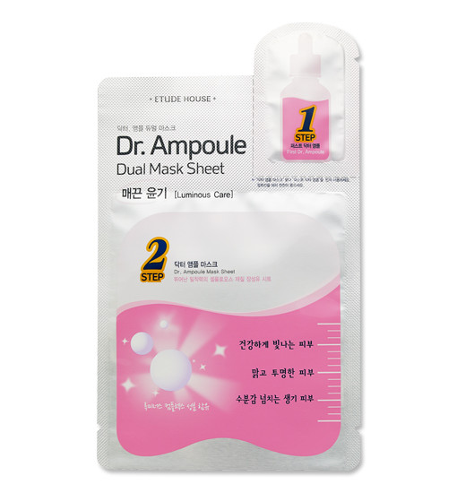 Dr. Ampoule Dual Mask Sheet [Luminous Care]
