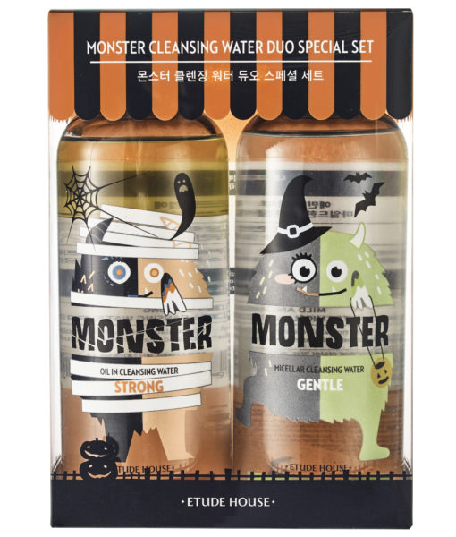 Monster Cleansing Water Duo Special Set Holloween