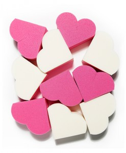 My Beauty Tool Heart Shape Puff-1