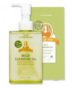 REAL ART CLEANSING OIL MILD