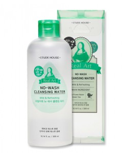 REAL ART NO-WASH CLEANSING WATER