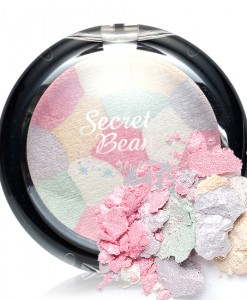 SECRET BEAM HIGHLIGHTER PINK&WHITE MIX