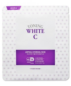 TONING WHITE C AMPOULE HYDROGEL MASK