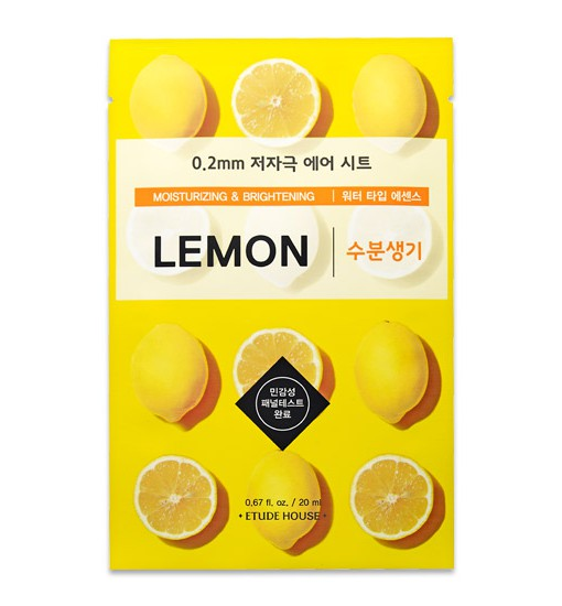 0.2 Therapy Air Mask Lemon