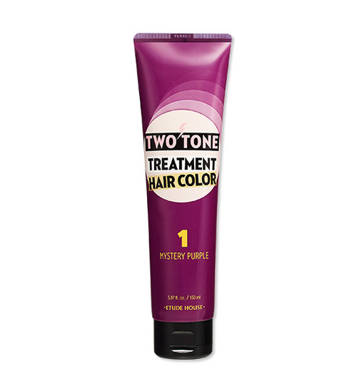 Two Tone Treatment Hair Color 01