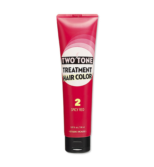 Two Tone Treatment Hair Color 02