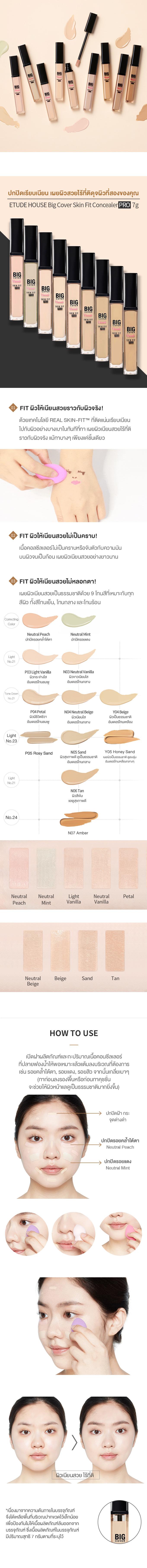 TH1_Description_Big Cover Skin Fit Concealer PRO