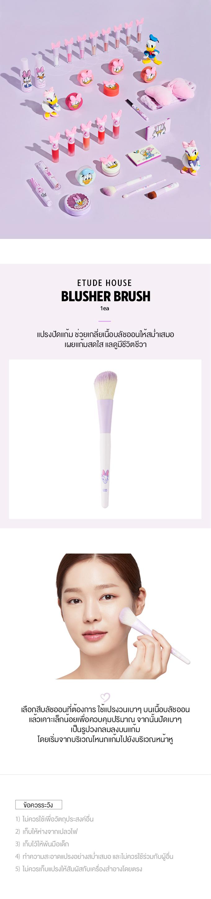 TH1_(Daisy Duck) Blusher Brush