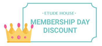 membership day discount