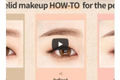 Single eyelid makeup HOW-TO for perfectly made up eyes!