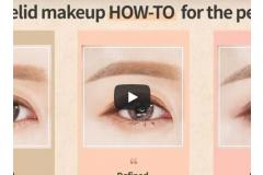 Double eyelid makeup HOW-TO for perfectly made up eyes!