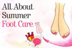 All About Summer Foot Care