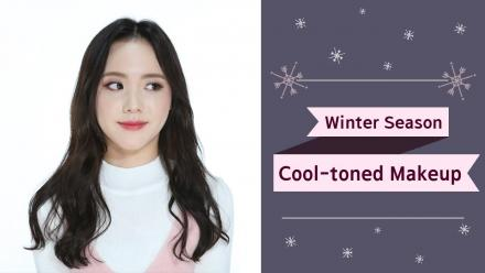 Winter Season Cool-toned Makeup Look