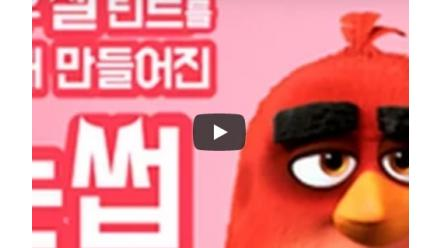 [ETUDE X Angry Birds] Kim Saeng Min's Stunning Story of Not Having Eyebrows #Tint My Brows Gel