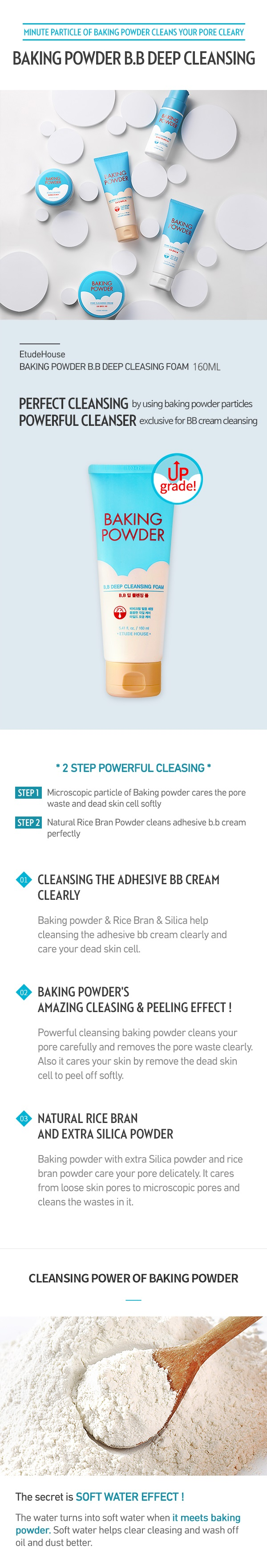 Baking Powder Bb Deep Cleansing Foam Etude House 02 Air Therapy Mask 3 Pcs