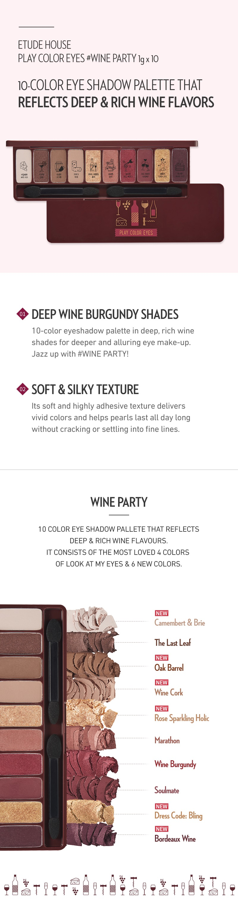 Play Color Eyes - Wine Party by Etude House #16