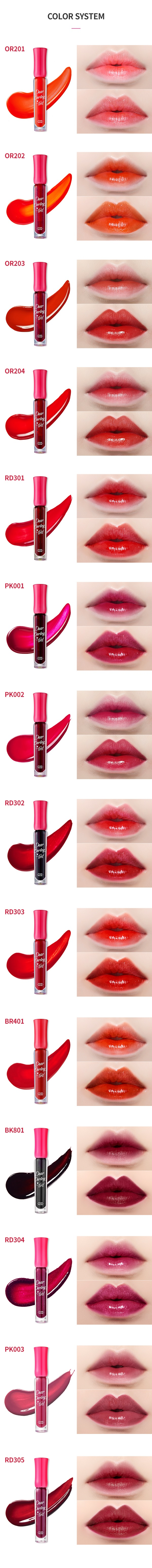 Image result for Etude House - Dear Darling Water Gel Tint 45g OR201Kumquat Red