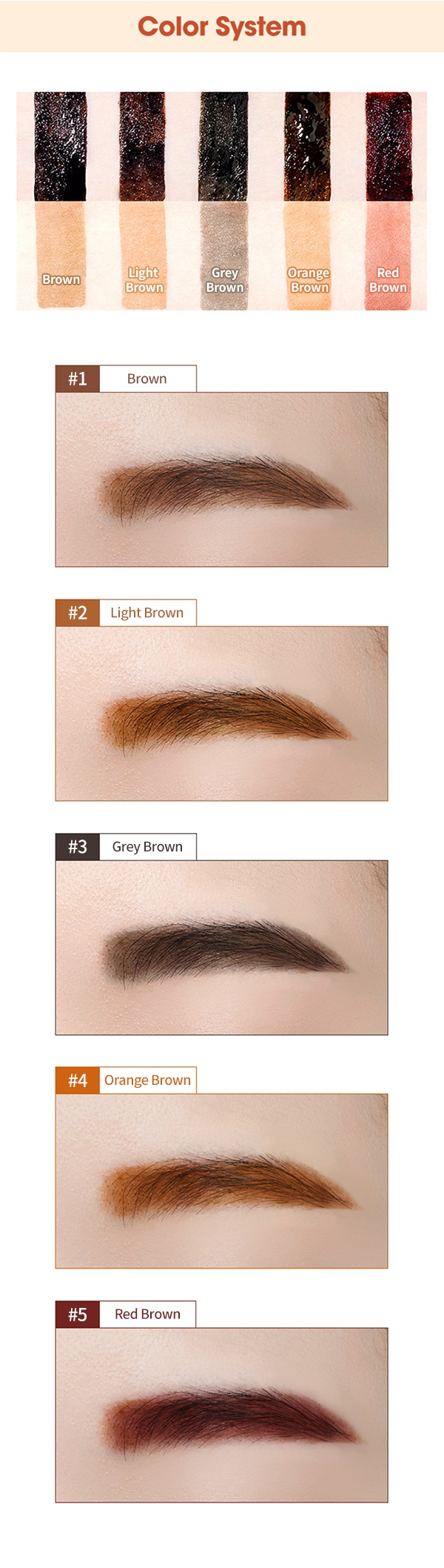 Tint My Brows Gel New
